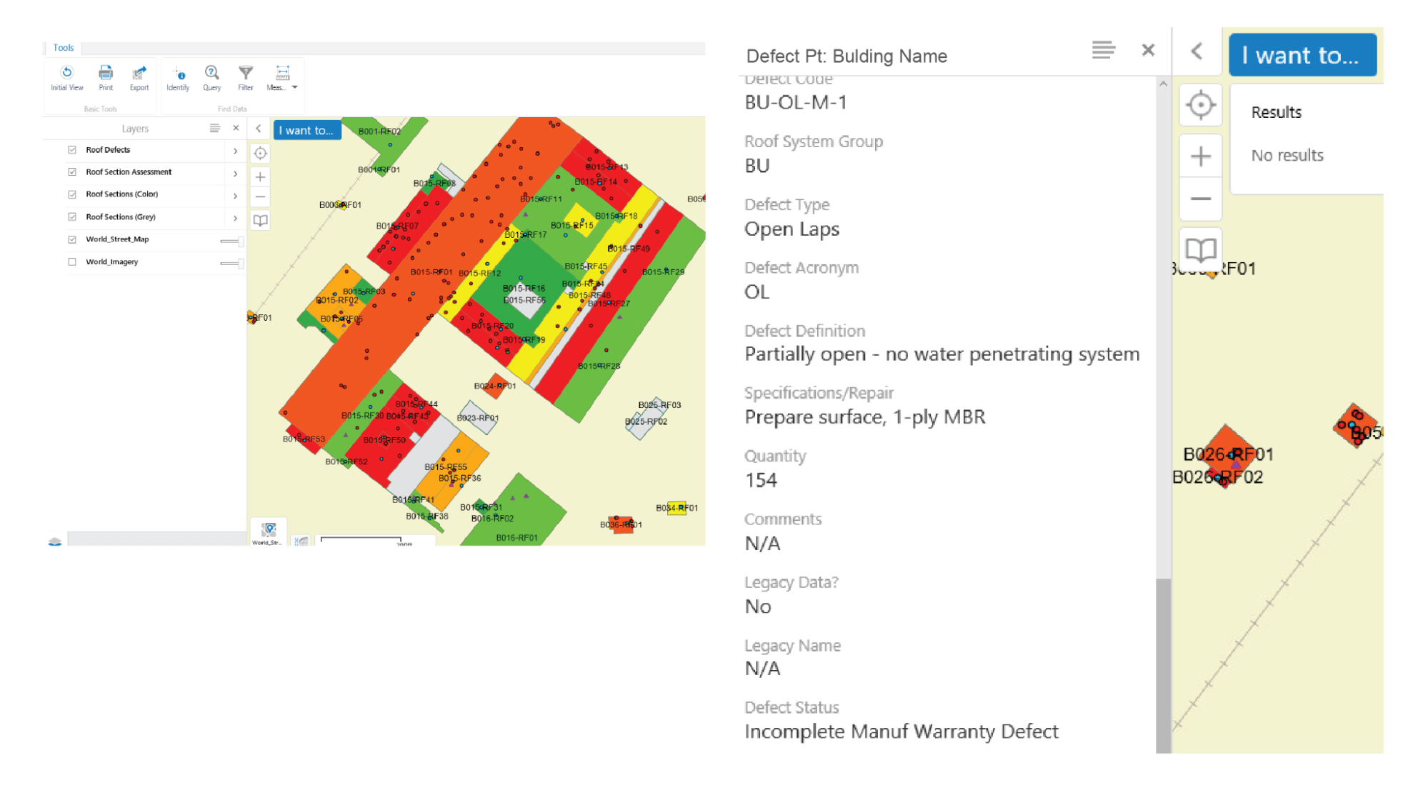 GIS mapping tool within ON-PNT<sup srcset=