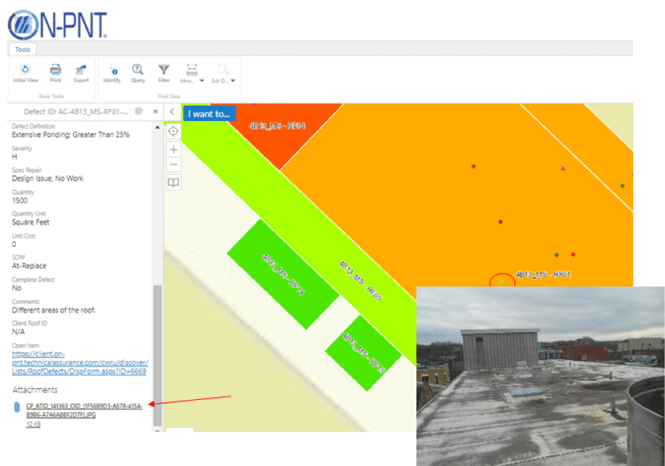 GIS mapping tool within ON-PNT® program